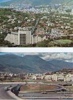 2 X PCs: CARACAS, VENEZUELA, SOUTH AMERICA ~ HOTEL TAMANACO & AVENIDA NUEVA GRANADA - Venezuela