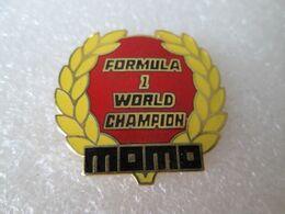 TOP PIN'S    MOMO   FORMULA 1 WORLD  CHAMPION    EMAIL GRAND FEU - F1