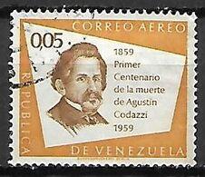 VENEZUELA    -   Aéro   .   1960 .  Agustin Codazzi.  0,05 C. Oblitéré. - Venezuela