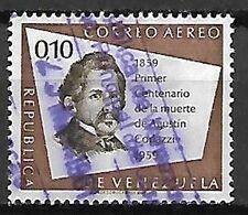 VENEZUELA    -   Aéro   .   1960 .  Agustin Codazzi.  0,10 C. Oblitéré. - Venezuela