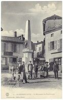 SAINT-GERMAIN-LAVAL (42) – Le Monument Des Combattants. Cliché Bouillet, Edition Chartre, N° 11. - Saint Germain Laval