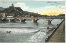 Cpa TORINO - 1905 - Ponte Sul Po (tampon Hôtel) - Bridges