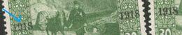 "BOSNIA-SHS YUGOSLAVIA-TWO  MNH STAMPS 30H -ERROR, DAMAGED NUMBER ""9"" -1918. - Bosnien-Herzegowina"