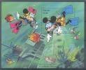 Nfg305 WALT DISNEY MICKEY MINNIE DUIKEN SCHEEPSWRAK VISSEN FISH DIVING DIVER PHOTO CAMERA SHIP WRECK PALAU 1994 PF/MNH - Disney