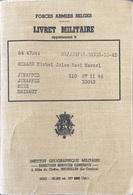 Belgique, Livret Militaire. - Historische Dokumente