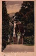 CPA - BAD MÜNSTER A STEIN - Partie Im Kurpark (moulin à Eau) - Edition G.M.B. - Bad Muenster A. Stein - Ebernburg