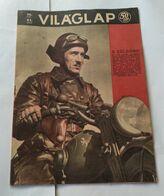 Vilaglapja Hungary 1943 Magazin Cover Motorcycle WWII Germany Soldier - Aardrijkskunde & Geschiedenis