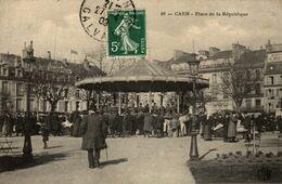 14-CAEN- PLACE DE LA REPUBLIQUE - Caen