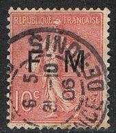 FRANCE : Franchise Militaire N° 4 Oblitéré - PRIX FIXE : 30 % De La Cote - - Franquicia Militar (Sellos)