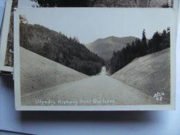 America USA WA Olympic Highway Near Quilcene Photo Card - Etats-Unis