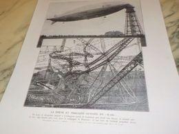 PHOTO LA BREVE ET TRAGIQUE ODYSSEE DU DIRIGEABLE R-101 1930 - Autres