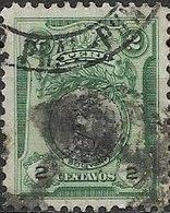 PERU 1918 Portraits - 2c - Black And Green (Bolivar) AVU - Peru