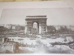PHOTO CEREMONIE 11 NOVEMBRE A L ARC DE TRIOMPHE  1930 - Photos