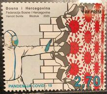Bosnia And Hercegovina, 2020, COVID-19 Pandemic (MNH) - Bosnien-Herzegowina