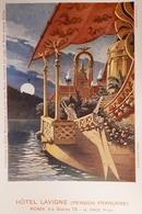 Cartolina - Hotel Lavigne - Nave Imperiale Romana Sul Lago Di Nemi - Roma 1900 - Unclassified