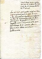 07.ARDECHE.SAINT VINCENT DE GRAS.EXTRAIT ACTE NAISSANCE 1781. - Old Paper