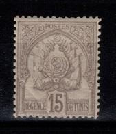 Tunisie - YV 24 N* , Pli D'angle Cote 13 Euros - Tunisie (1888-1955)
