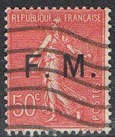 FRANCE : Franchise Militaire N° 6 Oblitéré - PRIX FIXE : 30 % De La Cote - - Franquicia Militar (Sellos)