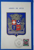 28 ALGERIE CPA DE SETIF 1958 POUR ALGER - Algérie (1962-...)