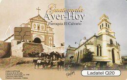 GUATEMALA. PARROQUIA EL CALVARIO. GT-TLG-0284B. (024). - Guatemala