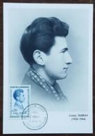 CM 1961 - YT N°1289 - HEROS DE LA RESISTANCE / LIONEL DUBRAY - JOINVILLE LE PONT - Cartas Máxima