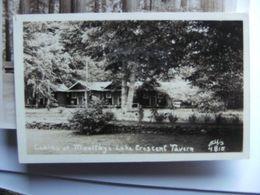 America USA WA Lake Crescent Tavern  Cabins Photocard - Etats-Unis