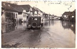RUPEA / REPS / KOHALOM - BRASOV : INUNDATIE / FLOOD - CARTE VRAIE PHOTO / REAL PHOTO POSTCARD - 1932 - RRR ! (af307) - Romania