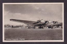 CPA Aviation Allemagne Germany Luft-Hansa Ostseebad Flughafen Non Circulé - 1939-1945: 2ème Guerre