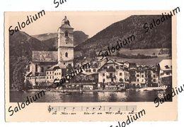 WOLFGANGSEE - Battello - Cartolina Musicale - Musical Card Music - St. Wolfgang