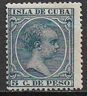 Cuba 1896. Scott #146 (MNH) King Alfonso XIII - Cuba (1874-1898)