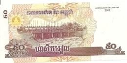 CAMBODGE 50 RIELS 2002 UNC P 52 - Cambogia