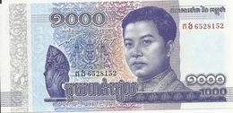 CAMBODGE 1000 RIELS 2016 UNC P 67 - Cambogia