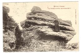 ETIVAL (88) - Étival-Clairefontaine - La Pierre D' Appel (Altitude 501m) - Ed. Ad. Weick, Saint Dié, N° 1401 - Etival Clairefontaine