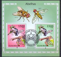 GUINEA BISSAU - FAUNA - INSECTS - BEES - MI.NO.BL 865 - CV = 12 € - Guinea-Bissau
