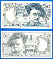 France 50 Francs 1989 Serie W 56 Quentin De La Tour Frcs Frc Paypal Bitcoin OK - 50 F 1976-1992 ''Quentin De La Tour''