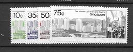 1985 MNH Singapore Mi 478-82, Postfris** - Singapour (1959-...)