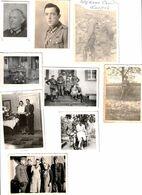 2.WW. 10 Fotos Von Soldaten, Verschienee Größen - 1939-45