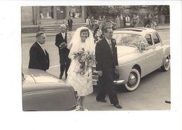 25621 - Foto Bär Langenthal Mariage Vers 1962 Voiture - Personas Anónimos