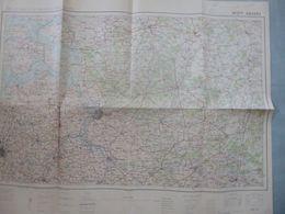 Carte De France Et Des Frontières N° 2 Bis : Anvers - 1/200 000ème - 1926. - Carte Topografiche