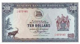 RHODESIA P. 41a 10 D 1979 UNC - Rhodesia