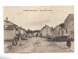 70 -  ORMOY ( Hte-Saône ) - Rue De La Poste. Carte Animée Adressée à Magny-les-Jussey - Frankreich