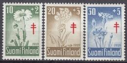 FINNLAND  509-511, Postfrisch **, Bekämpfung Der Tuberkulose, 1959 - Finland