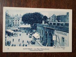 L28/900 Saint Malo - La Place Chateaubriand - Saint Malo