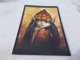 CP ARTS  HUILE SUR TOILE DE SANDRINE GESTIN  LE FEUILLU - Malerei & Gemälde