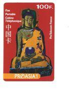 BOUDDHA TELECARTE Prépayée FRANCE   100F CHINE CHINA TELEPHONE CARD Usagée TB 2 Scans - Télécartes