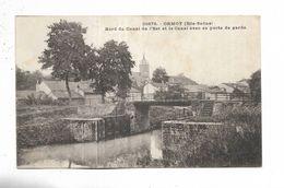 70 -  ORMOY ( Hte-Saône ) - Bord Du Canal De L' Est Et Le Canal Avec Sa Porte De Garde - Andere Gemeenten
