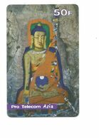 BOUDDHA TELECARTE Prépayée  FRANCE CHINA  100F CHINE TELEPHONE CARD Usagée TB 2 Scans - Télécartes