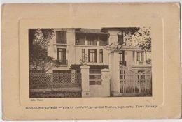 CPA : Boulouris (83) La Villa La Lanterne De Mr Frachon,  Directeur Du Journal La Lanterne, Architecte Vimort, - Boulouris
