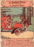 Le Chauffeur Myope Par Benjamin Rabier . Publicité Au Dos De L'image : Employez La Chicorée AU TIGRE . - Autres