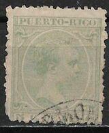 Puerto Rico 1894. Scott #111 (U) King Alfonso XIII - Puerto Rico
